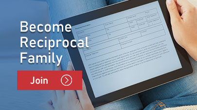 Become a reciprocal family